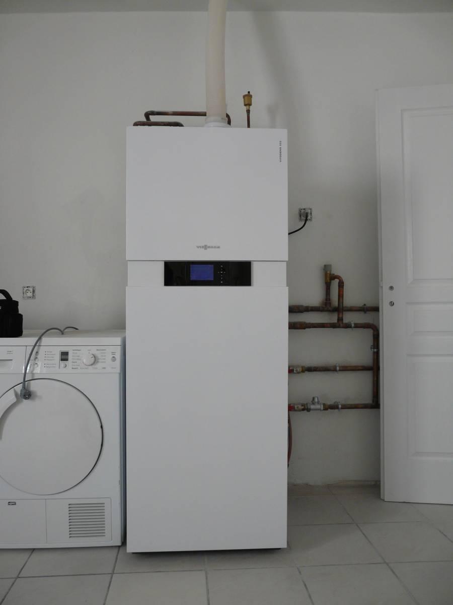 installation d une chaudi re condensation gaz dans une. Black Bedroom Furniture Sets. Home Design Ideas